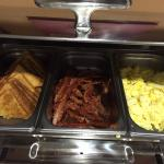Hot breakfast was great!