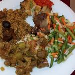 Tchiebouyapp rice (Fried rice with mutton)