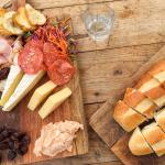 The ploughman's platter for two