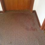 Dirty old carpets