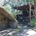 The replica chief's house at Rewa's Village
