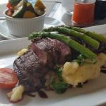 This was an Springbuck steak, absolutely delicious ! Cooked to perfection (medium rare)