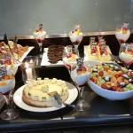 This was only a portion of their lunch desert table offerings