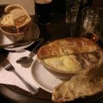 Pie's - Right = Pheasant & rabbit - Left = Steak & Landlord.