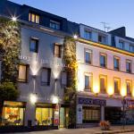 facade Hotel de France et d'Europe Concarneau
