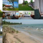 286' of beachfront shoreline with cottages and motel availability.