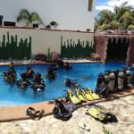 Diving Class at the Beach Resort