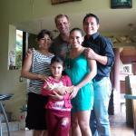 En la despedida con la familia Dekeyser