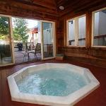 Hot tub and spa.