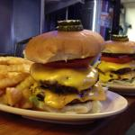 Double Buster Burger!
