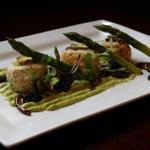 Green pea and pistachio wellingtons