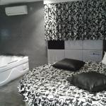 Suite con jacuzzi y cama redonda
