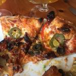 My pizza which i like well done it was very very good