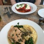 Chicken Parma and Piccata