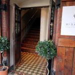 Entrance to McKenzie' Restaurant