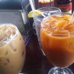 Iced Coffee and Thai Iced Tea