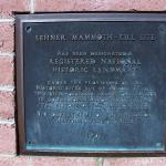 Historic Landmark Plaque.