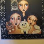 Les chats sont omniprésent dans la décoration, tendre et originale