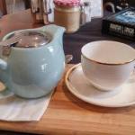 20160323 Daylesford - Muffins & More - pot of Jasmine tea before Mah Jong_large.jpg