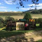 Picklepot's gorgeous view & playground