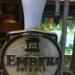 Join us for a pint, or two, of our own Ember real ale.