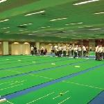 The bowling hall