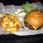 Cheeseburger with Loaded Tots!