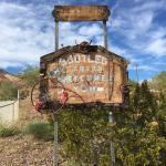 The Bootleg Canyon sign