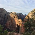 Angels Landing at Sunrise