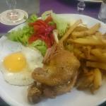 Salade 8.50 assiette composée 11 euros