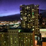 Denver night city scape.