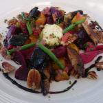 Beetroot/Butternut salad