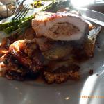 pork chop with asparagus, excellent