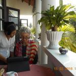 Lovely balcony breakfast & beautiful & helpful staff!