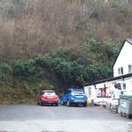 Inn side car park