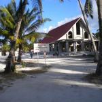 A Church among sand and palms