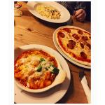 Pizza, Carbonara, Baked Gnocchi. all amazing