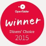 Magna Opentable diner's choice award