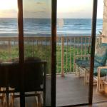 All oceanfront views in beautifully renovated unit at Cape Canaveral.