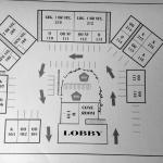 Layout of rooms
