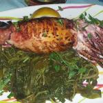 stuffed kalamari (squid)