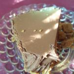Chocolate peanut butter pie. I started eating before I thought to picture it. lol