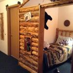 Bunkhouse suite has 2 twin beds