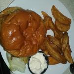 Cheeseburger as take-out