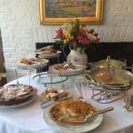Wonderful breakfast buffet!