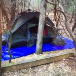 The best tent camping EVER