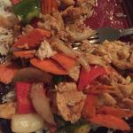 Cashew chicken. I love this restaurant. They are so nice and friendly.