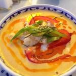 Chicken Panang Curry at Bangkok Thai restaurant in Puyallup, WA