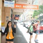 Maze Backpackers Foto