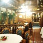 Maravilhosa decoracao do restaurante!